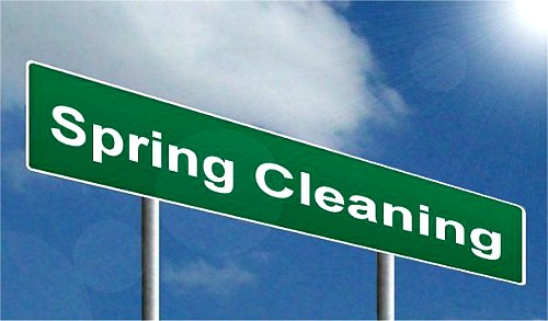 Spring Cleanup Advice Do It Right